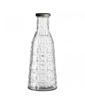 Botella de Cristal con Tapa