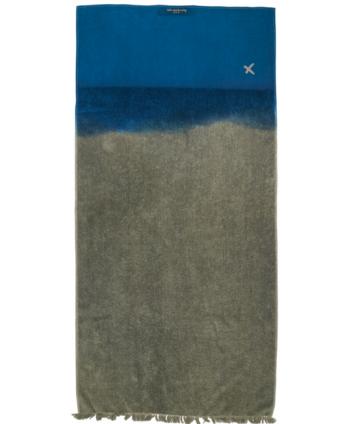 Toalla Algodón Gris/Azul...