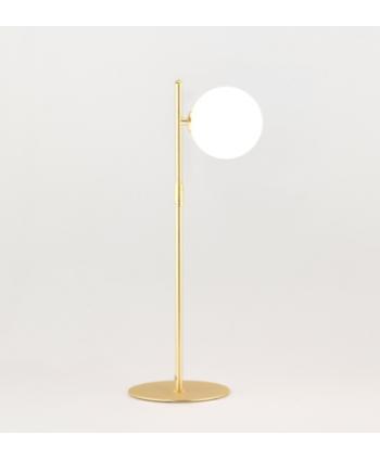 Lámpara de Mesa Oro Con...