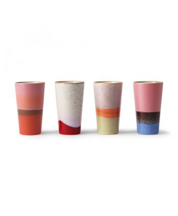 Vaso Latte Set de 4