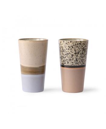 Tazas Latte Set de 2