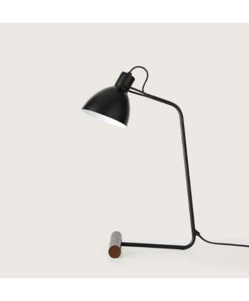 Lámpara de Mesa Focal Negra