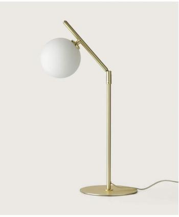 Lámpara de Mesa Bola Opal
